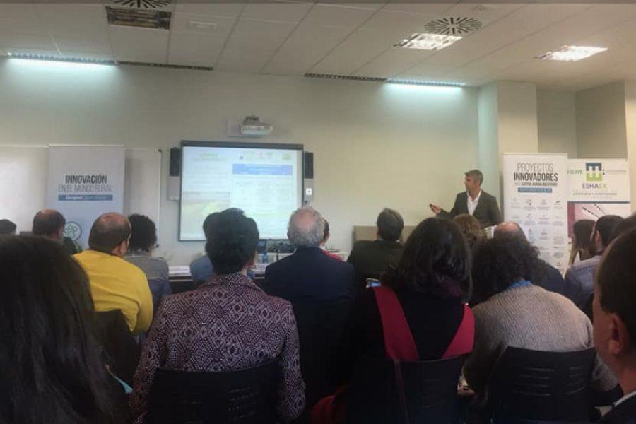 Presentado el proyecto APGEFERT en las Jornadas de Transferencia de Tecnología de Extremadura