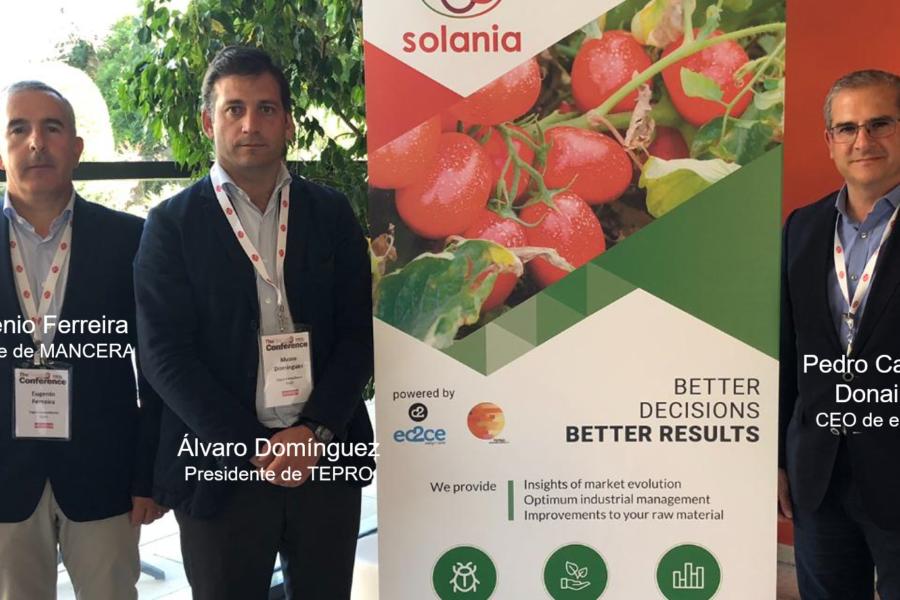 SOLANIA, el primer ecosistema predictivo de tomate.