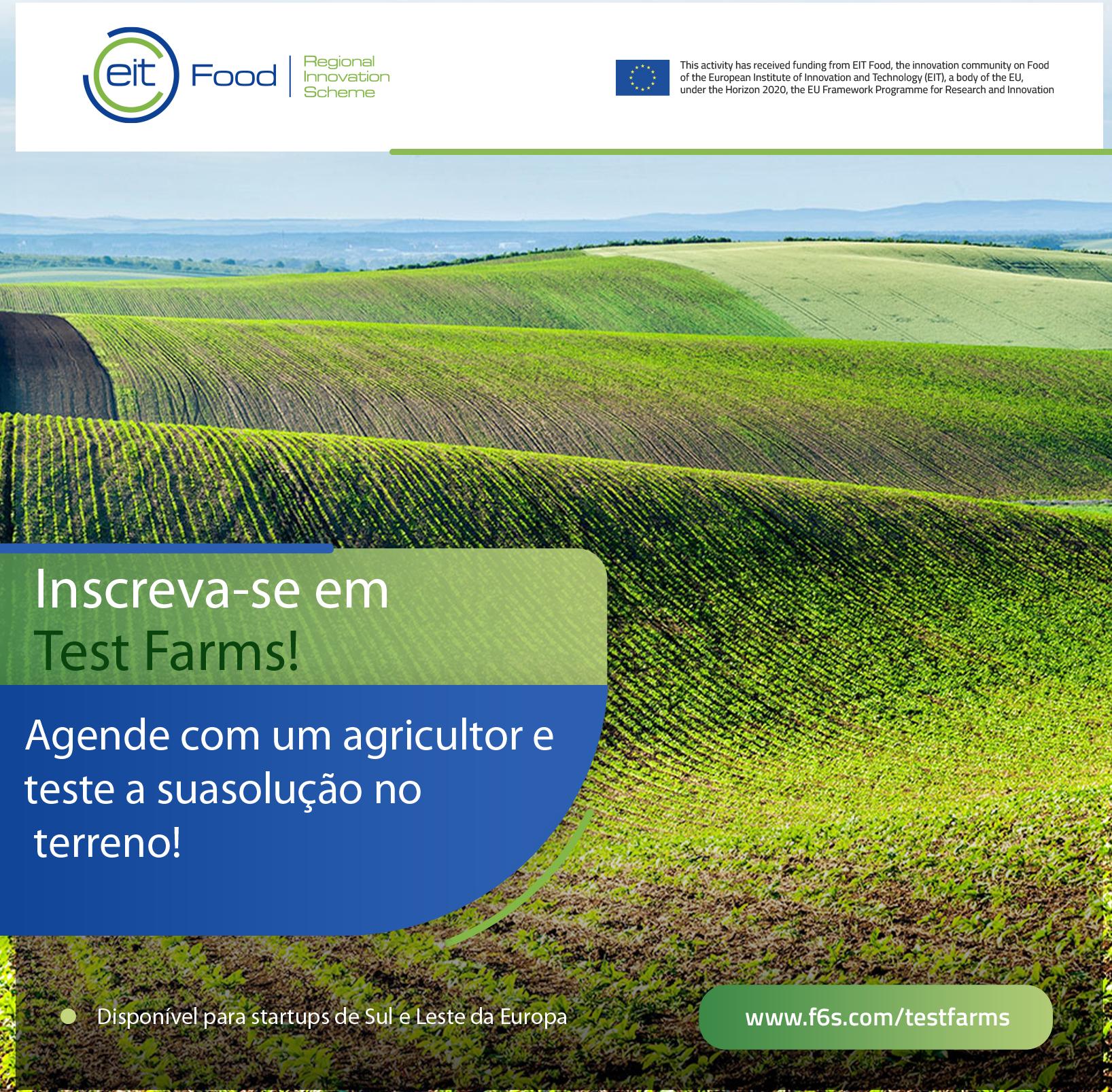 Test Farms: oportunidade para experimentar produtos ou serviços inovadores com agricultores