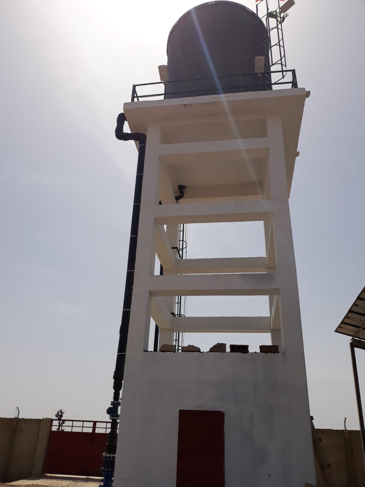 Proyecto llave en mano de riego para un centro de formación Agrícola en Senegal