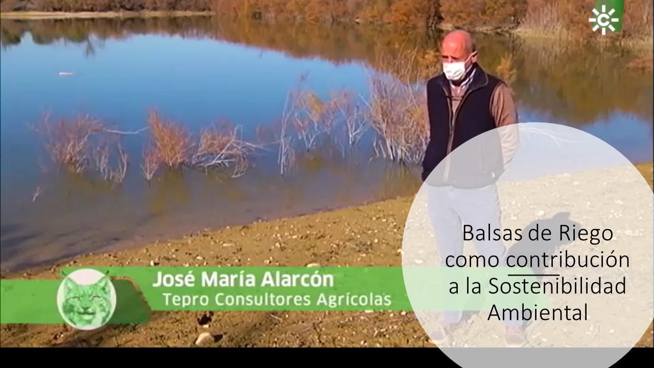 Balsas de Riego como contribución a la Sostenibilidad Ambiental